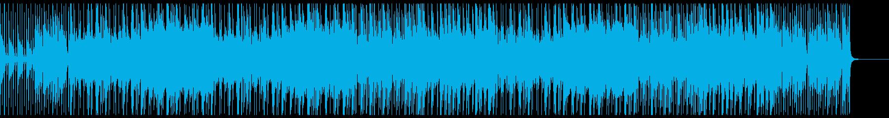 Wリポートを喚起させる浮遊感のあるジャズの再生済みの波形