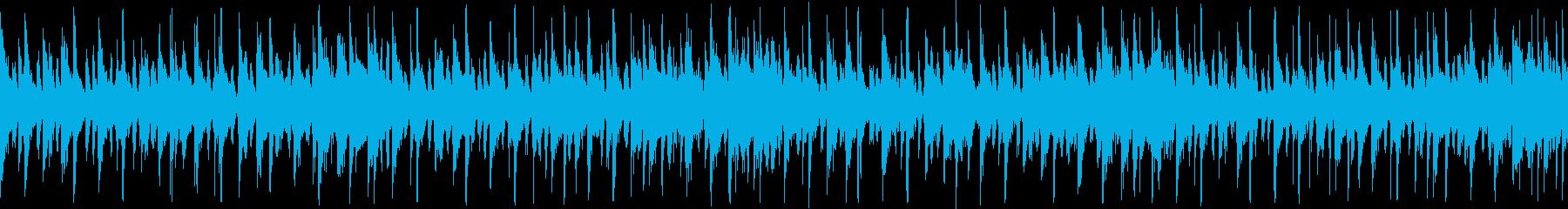 生演奏ギターでノリノリデジタルファンクの再生済みの波形
