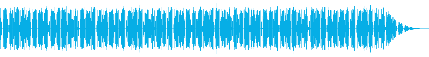 GB系風和風ゲームのメニュー画面曲の再生済みの波形