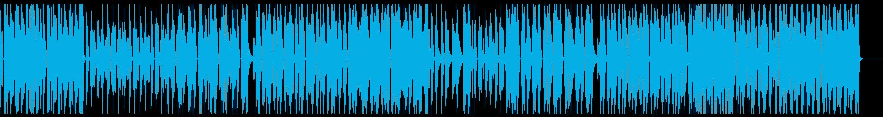 切ないテクノポップの再生済みの波形
