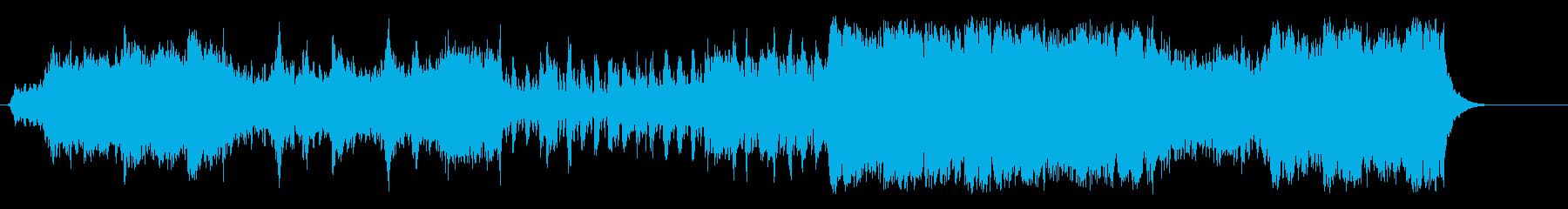 歴史的、大陸的ドキュメントタッチの再生済みの波形