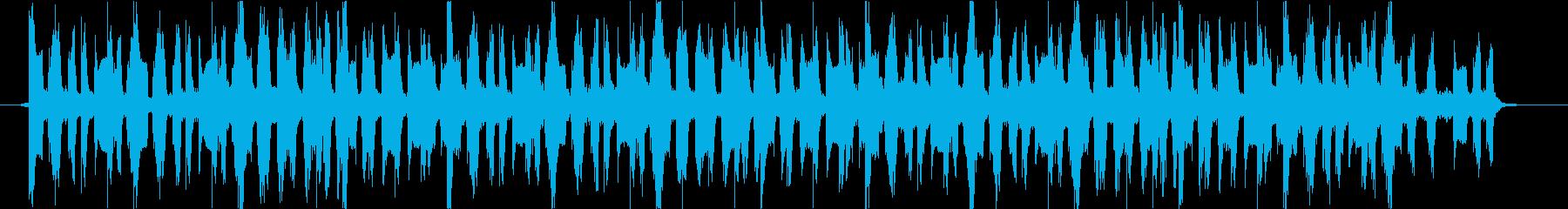 CM用エレキギターでノリの良い都会的曲の再生済みの波形