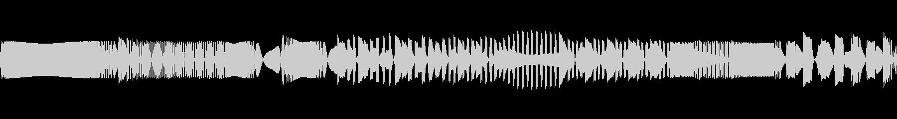 エレクトロ着信メッセージの未再生の波形