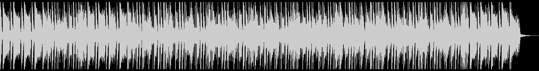 ファンクでゴージャスなアップビートの未再生の波形