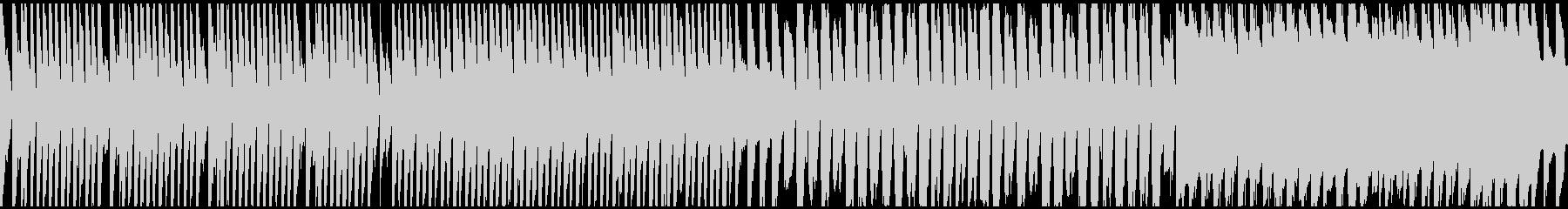 マリンバとリコーダーによる朗らかなループの未再生の波形