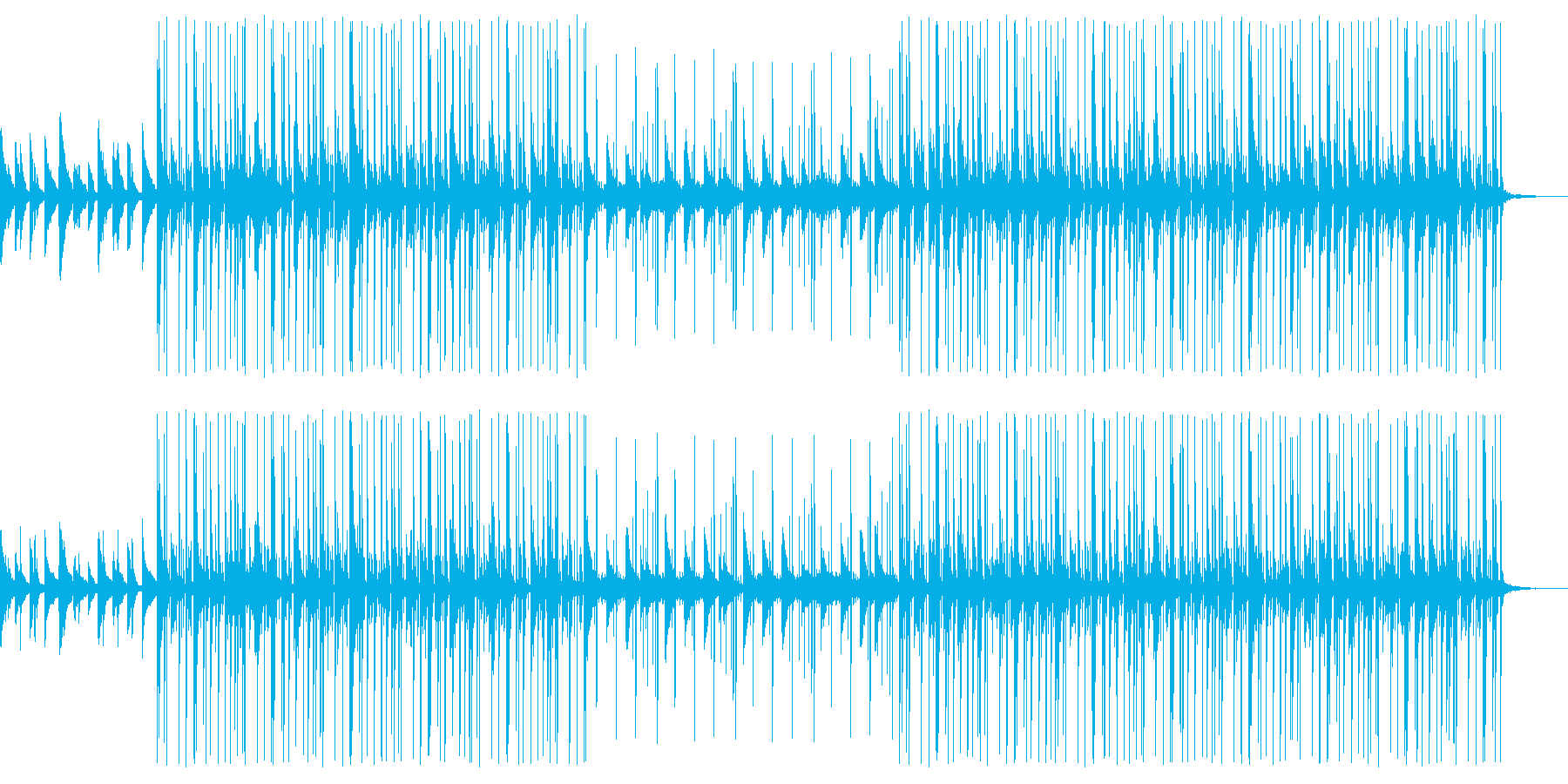 Lofi Piano beats 202の再生済みの波形