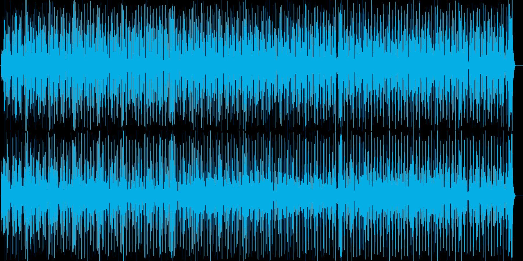 タイムリミットが迫るクールでかっこいい曲の再生済みの波形