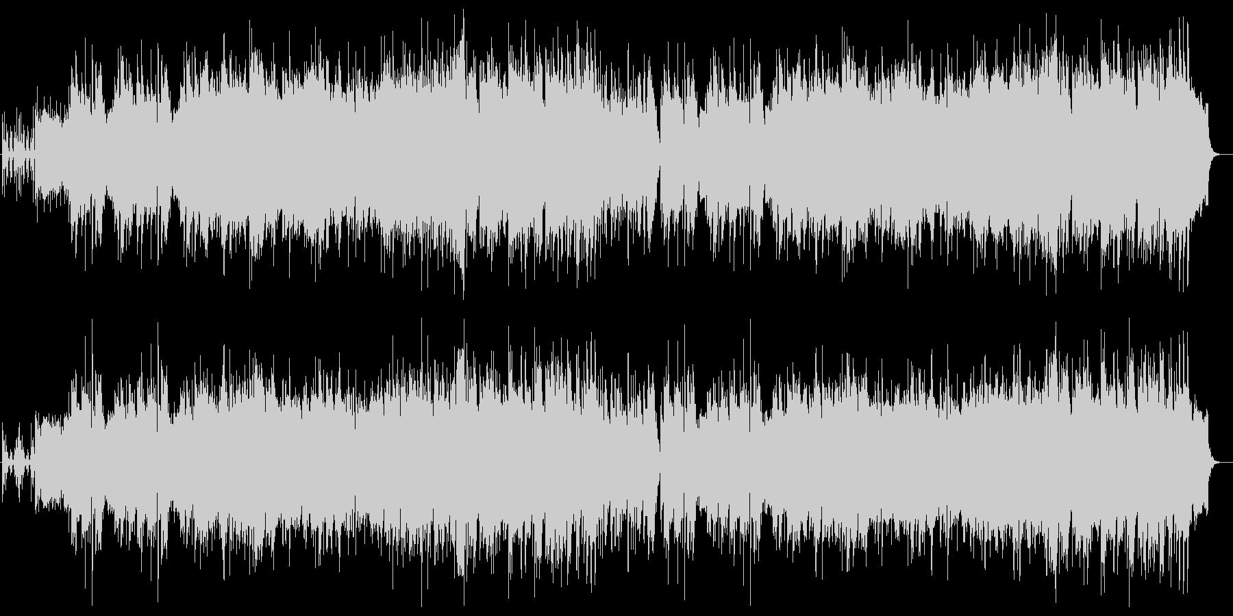 悠々としたシンセサイザーピアノサウンドの未再生の波形