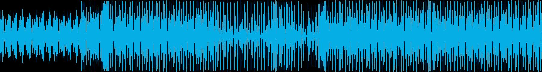 【ダンスなどのBGMにハウス系BGM】の再生済みの波形