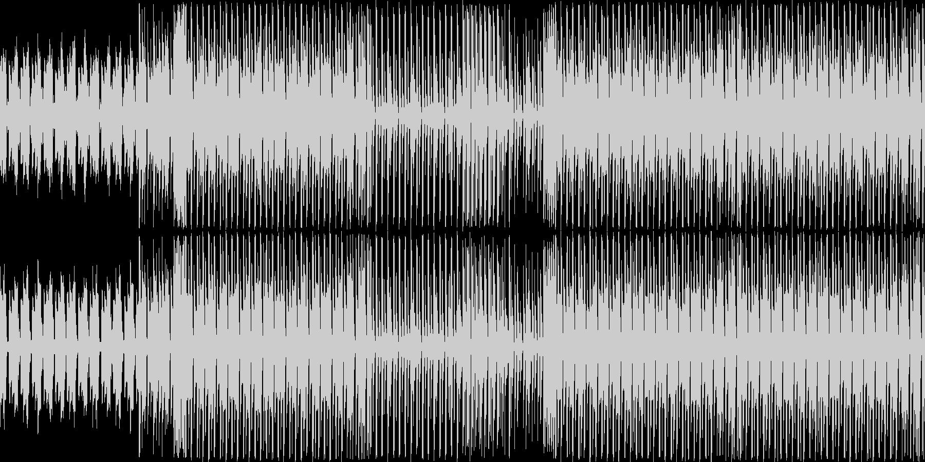 【ダンスなどのBGMにハウス系BGM】の未再生の波形
