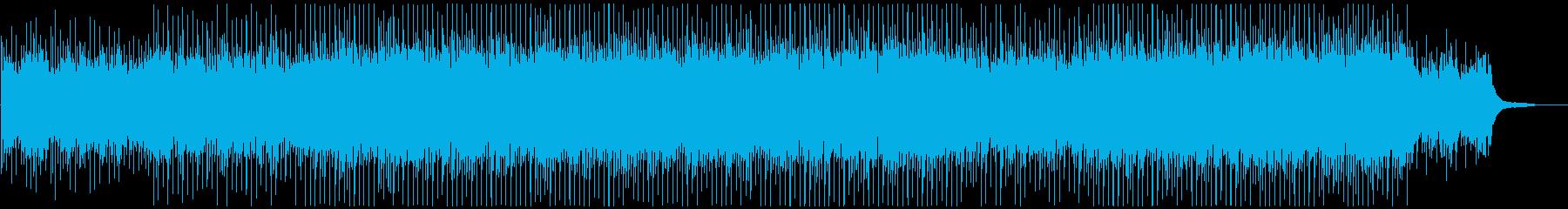 明るく優しいの再生済みの波形