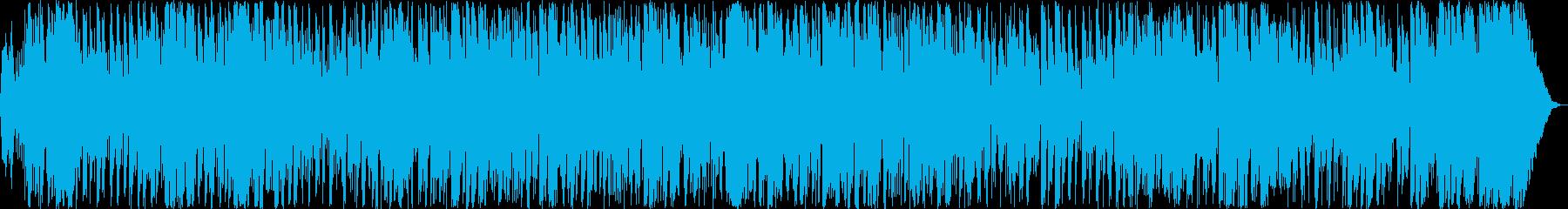妖艶なシンセサイザーボサノヴァの再生済みの波形