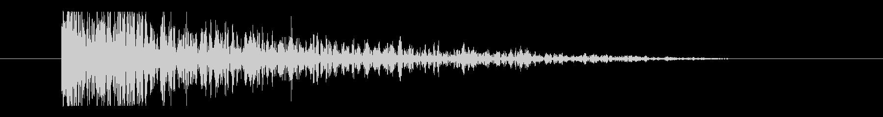スティンガー-パーカッシブスラム&...の未再生の波形