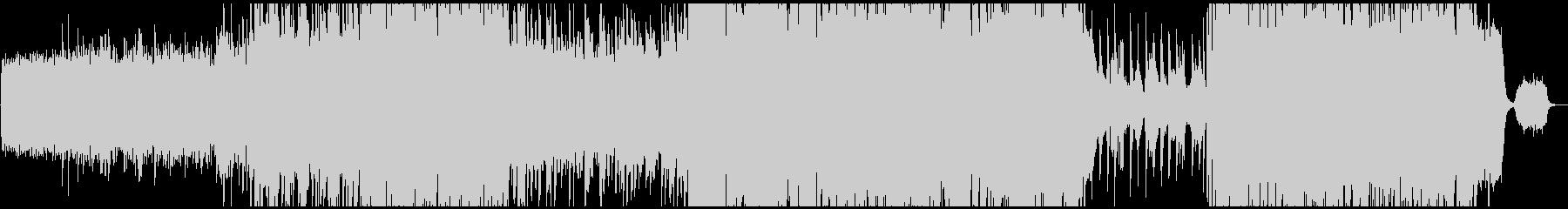 ヴァイオリン中心のヒーリングBGM系楽曲の未再生の波形