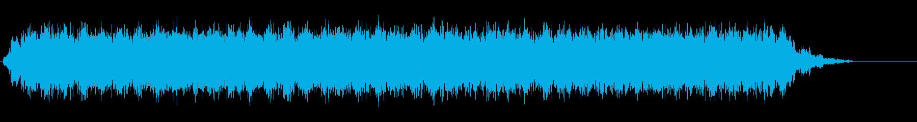 [生録音]ミキサーで混ぜる02-ミドルの再生済みの波形