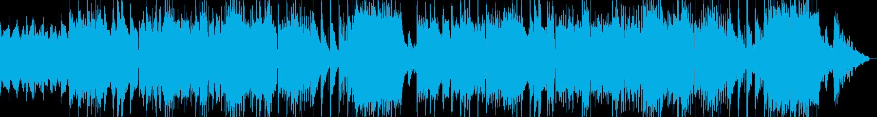 秋冬に合うパイプオルガンが哀愁漂うBGMの再生済みの波形