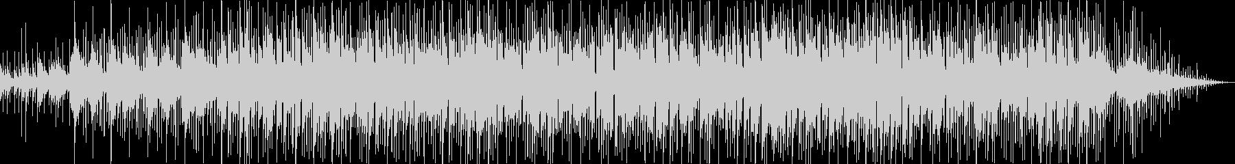 ゆったりしたシンセ・ギターサウンドの未再生の波形