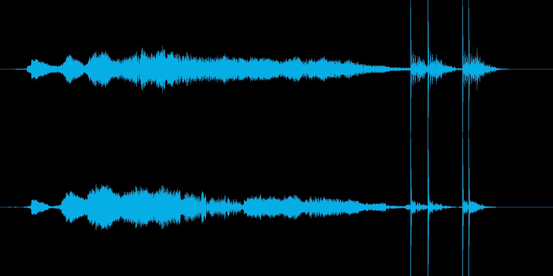 花火 ドンドン ドドン ヒューの再生済みの波形