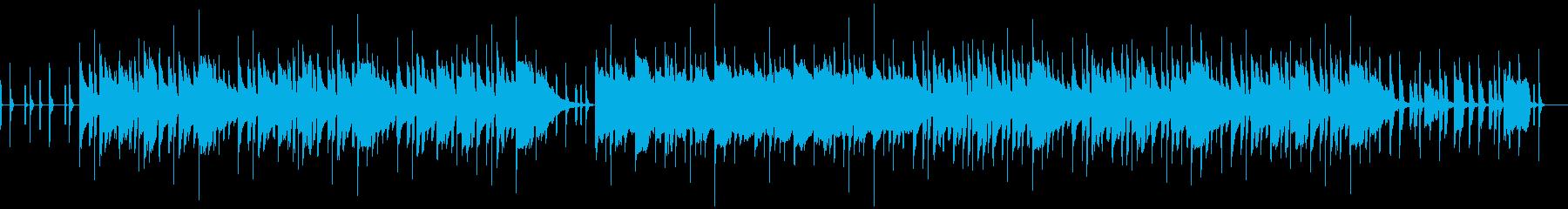 口笛によるのんびり日常曲の再生済みの波形