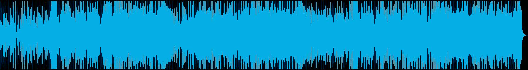 リードソロドライブギターのこのトラ...の再生済みの波形