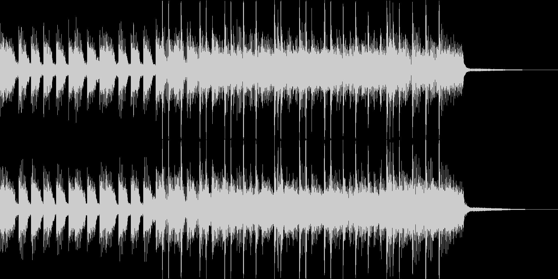 ヘヴィでアグレッシブなジングルその3の未再生の波形