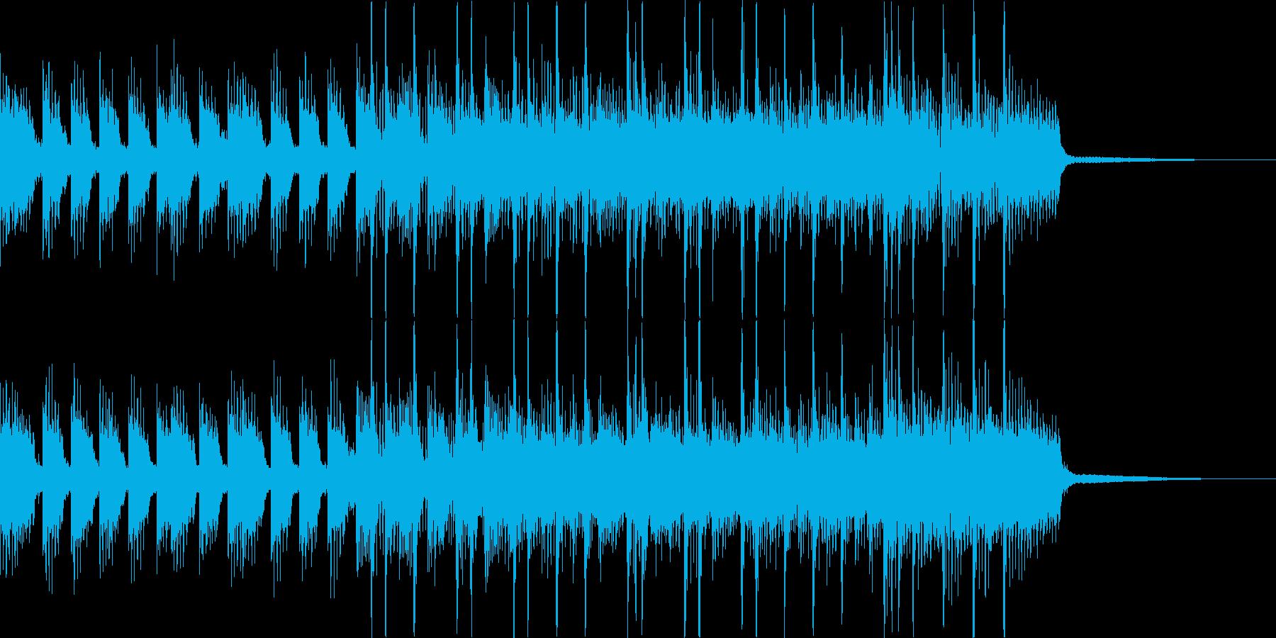 ヘヴィでアグレッシブなジングルその3の再生済みの波形