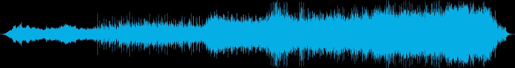 モダン テクノ 実験的な アンビエ...の再生済みの波形