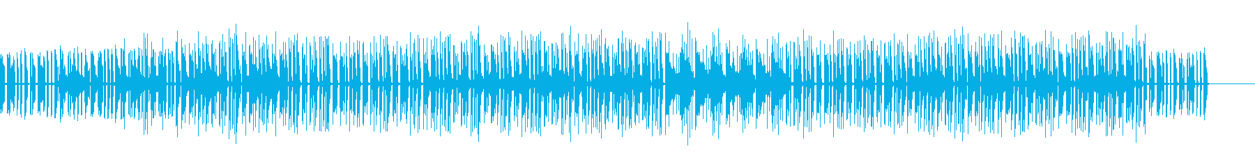 明るくテンポの良いエレピミュージックの再生済みの波形