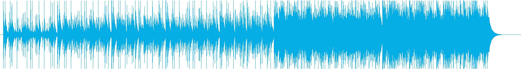 ミステリー/コンガ/マリンバ/緊張感の再生済みの波形