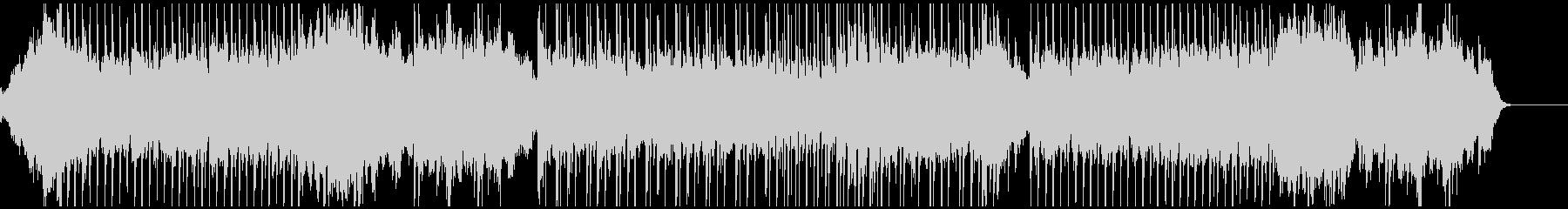 ピアノのリズムがズンチャ ズンチャの未再生の波形