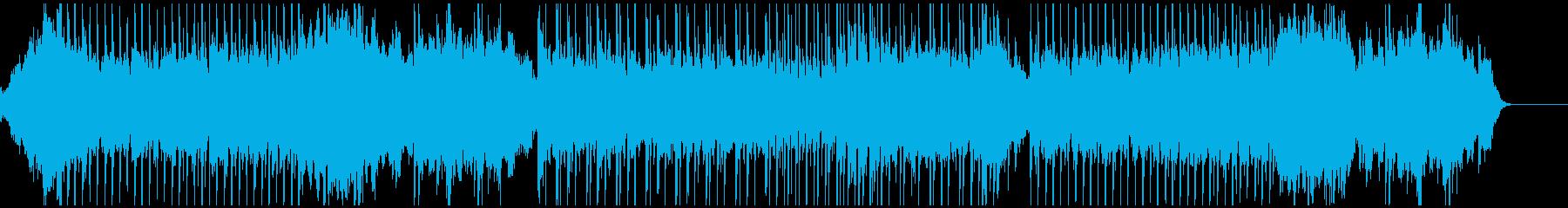ピアノのリズムがズンチャ ズンチャの再生済みの波形