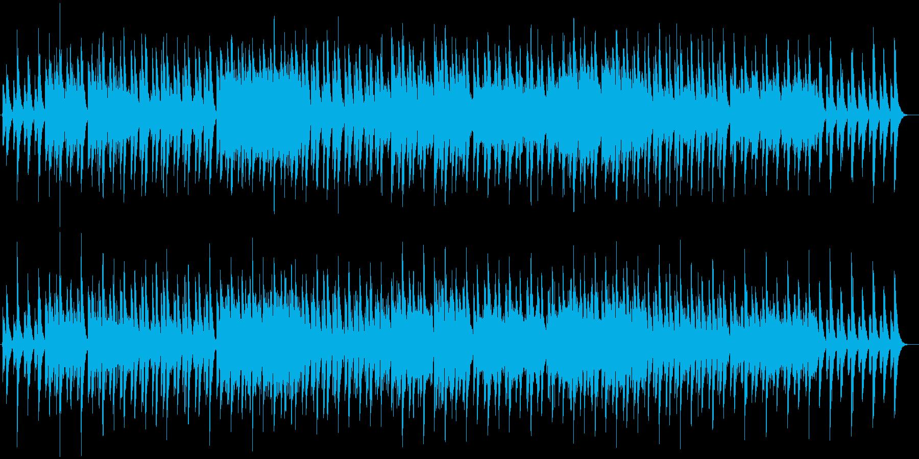 優しく静かで、どこか緊張感あるワルツの再生済みの波形