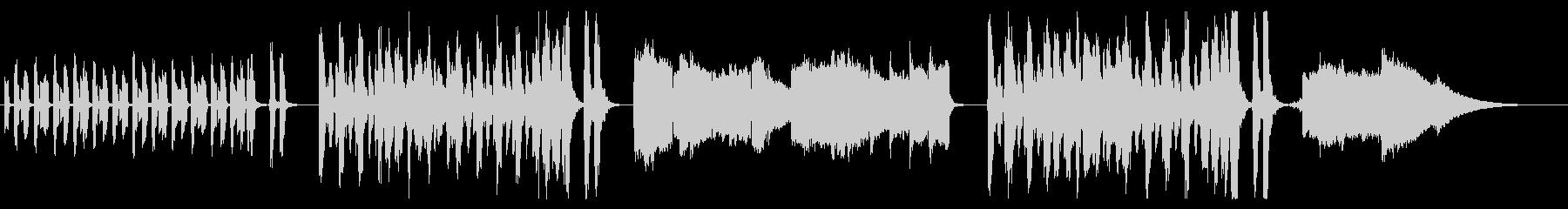 アンデス・エレピ鍵ハモ ほのぼのBGM の未再生の波形