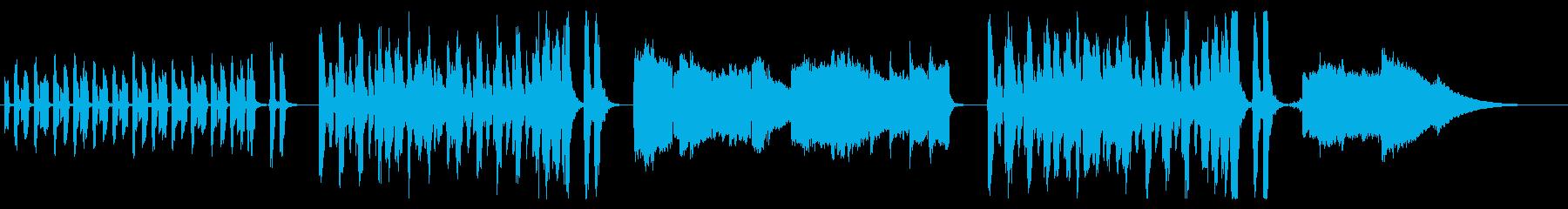 アンデス・エレピ鍵ハモ ほのぼのBGM の再生済みの波形