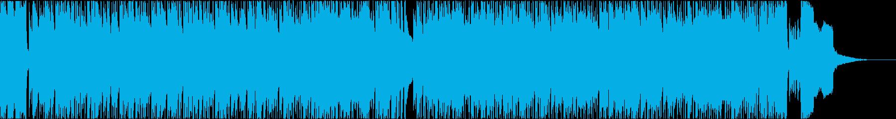 ほのぼのしたアコースティックポップスの再生済みの波形