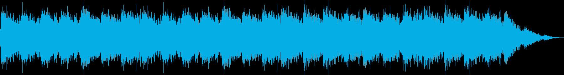 ピアノが優しく響くヒーリング音楽の再生済みの波形