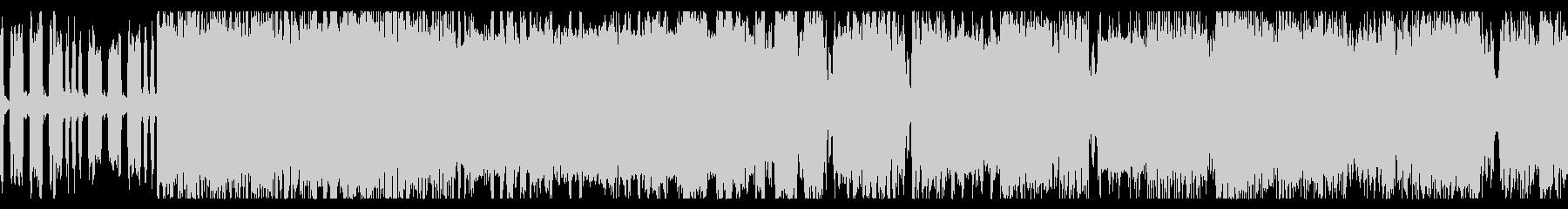 バトル向けな3連リズムのチップチューンの未再生の波形