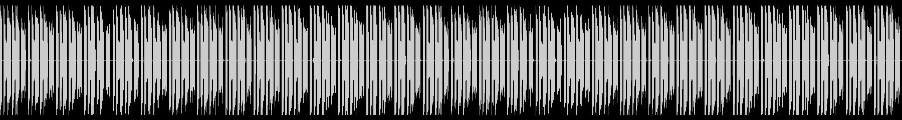 ファミコン風説明シーンのBGMの未再生の波形