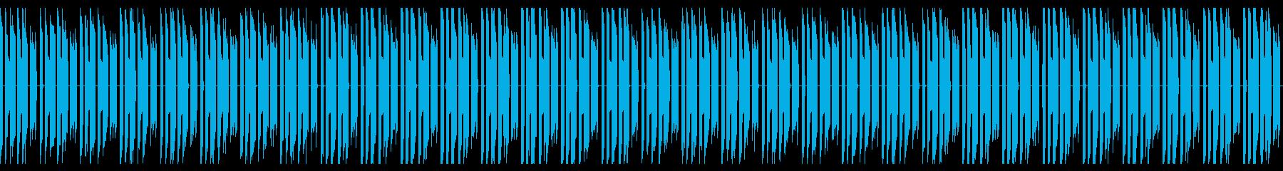 ファミコン風説明シーンのBGMの再生済みの波形