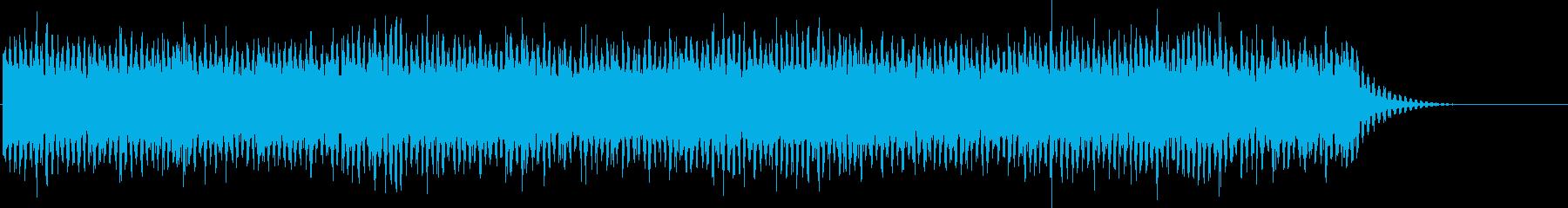 ニュース読みBGM/ダイジェストニュースの再生済みの波形