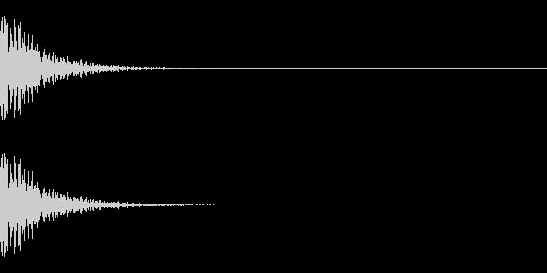メープル材ドラムキット_スネア03の未再生の波形