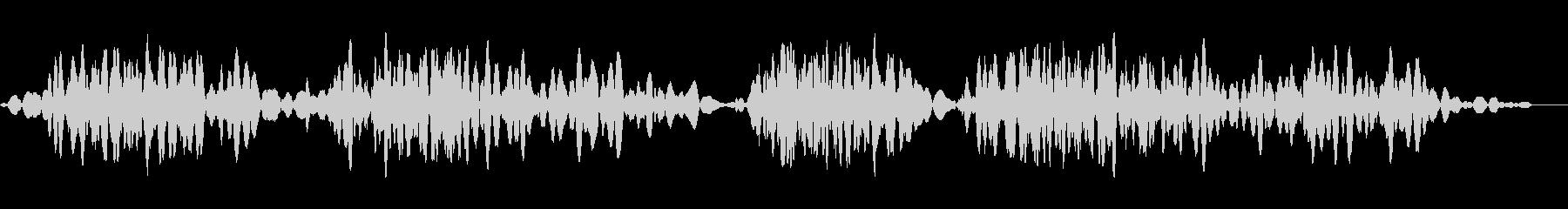 ローテープスクラブ4の未再生の波形