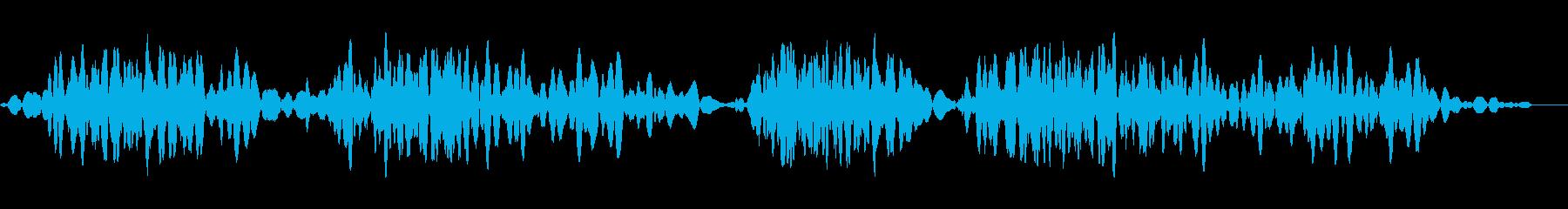 ローテープスクラブ4の再生済みの波形