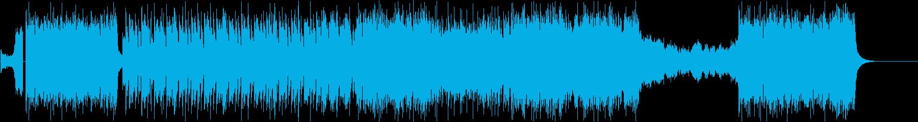 メタルの再生済みの波形