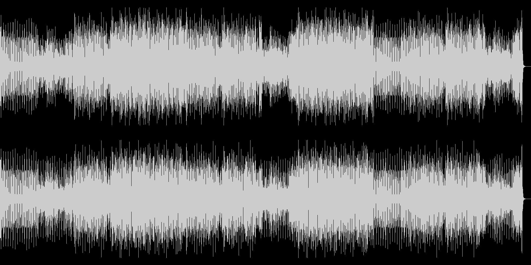 ファンキー&クールな王道アシッドジャズの未再生の波形