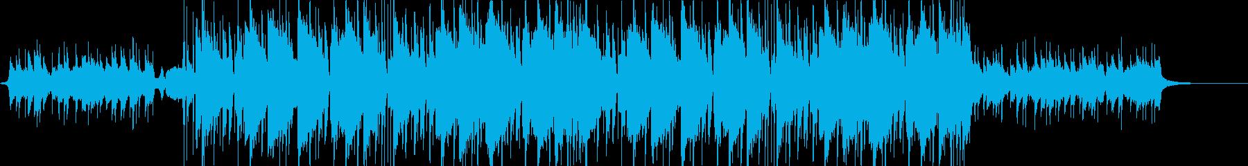 洋楽風・爽やかなFutureBass bの再生済みの波形
