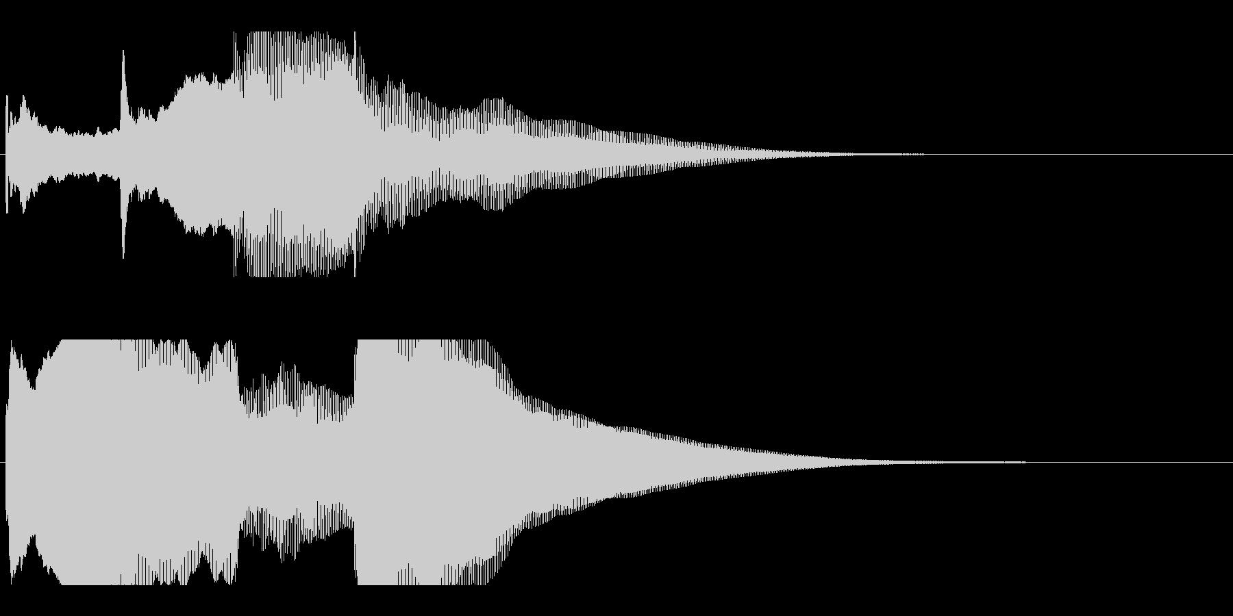アナウンス後 チャイム-3_rev-1の未再生の波形
