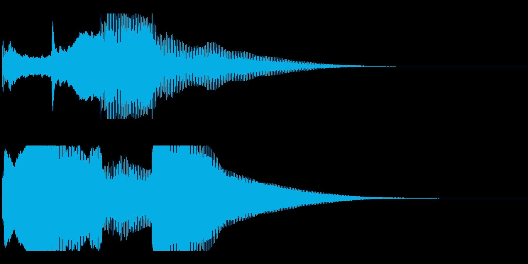 アナウンス後 チャイム-3_rev-1の再生済みの波形