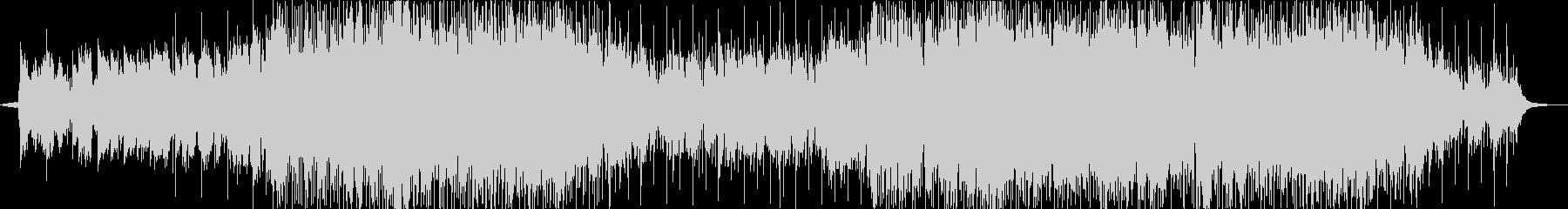 笛のメロディーのポップな曲の未再生の波形