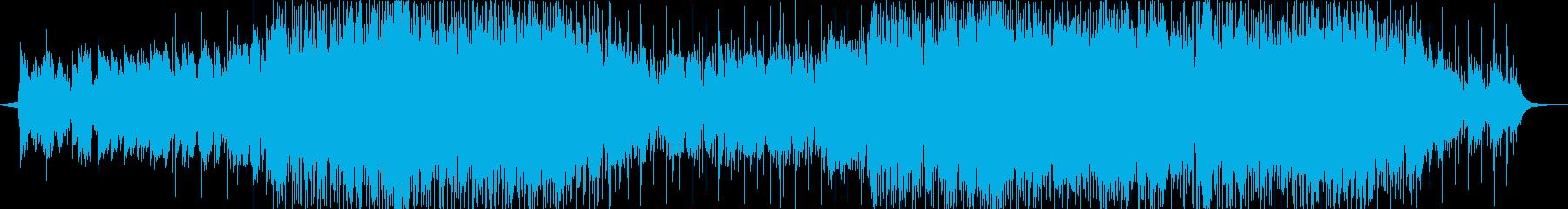 笛のメロディーのポップな曲の再生済みの波形